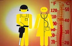 Режим праці в умовах підвищеної температури повітря – рекомендації Держпраці